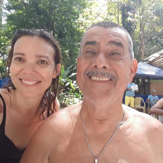 Ivens Rodrigues da Costa e sua filha Ivaney Darling (Foto: Arquivo Pessoal)