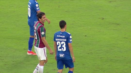 Novo titular do Fluminense, Agenor cita papo com Rodolfo e explica chutões contra o Cruzeiro