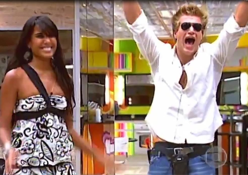Diego Alemão vence 'BBB7' — Foto: TV Globo