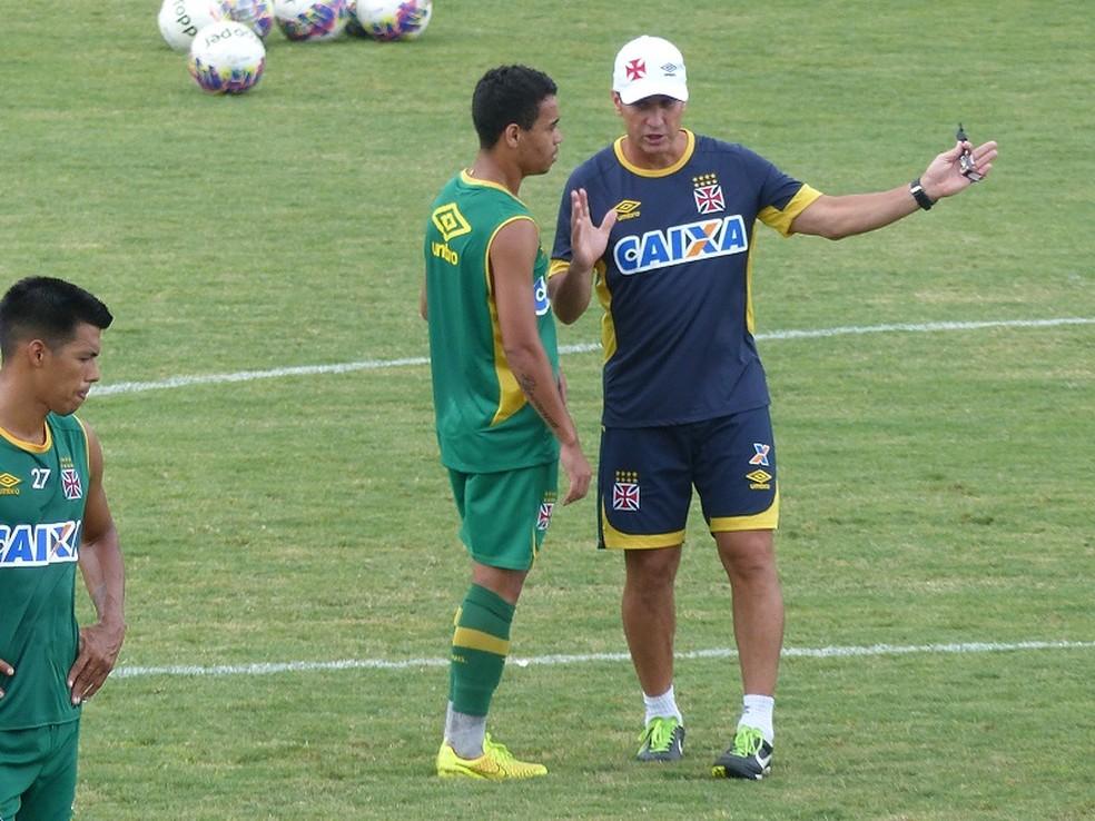 Jorginho e Yago Pikachu em treino do Vasco  Foto Cah Mota  GloboEsportecom