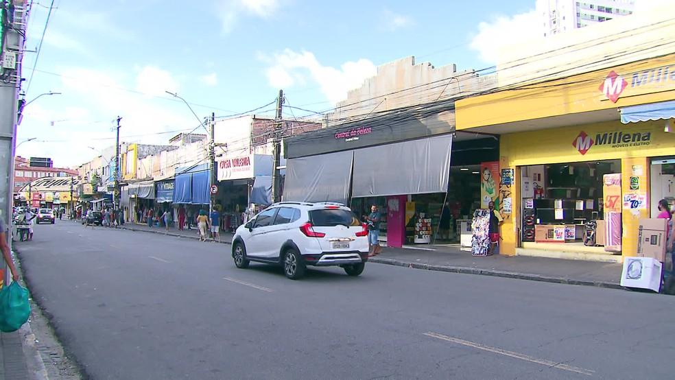 Comércio de bairro no Grande Recife — Foto: Reprodução/TV Globo