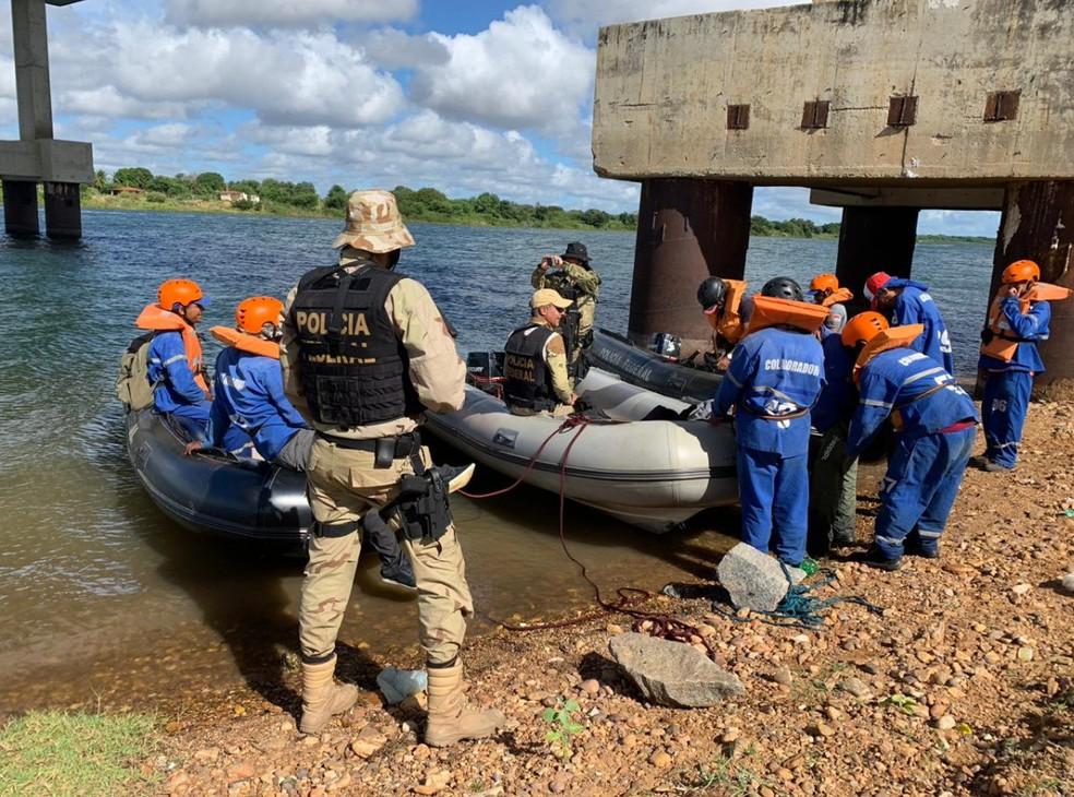 Policiais trabalharam com incursões terrestres, aéreas e fluviais na Operação Facheiro II — Foto: Divulgação/ PF