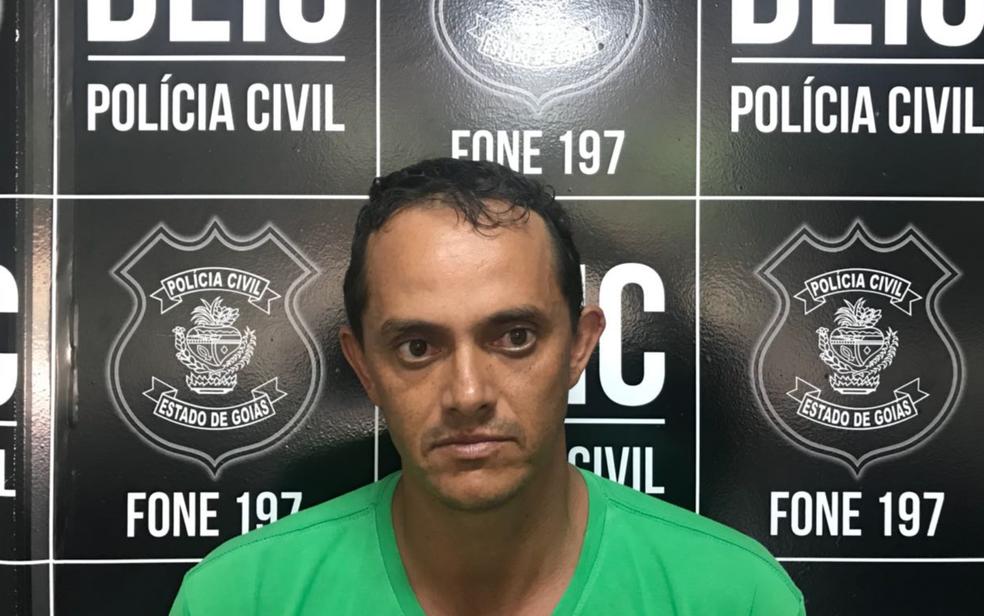 O vereador José Eduardo Alves da Silva (PR-GO), suspeito de mandar matar radialista em Edealina (Foto: Polícia Civil/Divulgação)