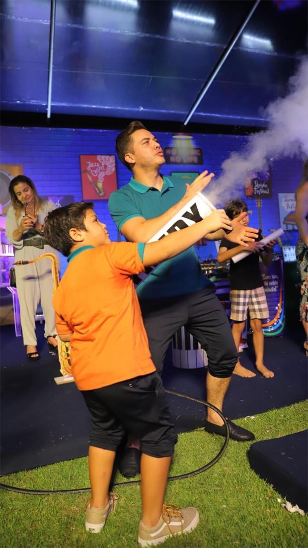 Festa de Yhudy, filho de Wesley Safadão e Thyane Dantas (Foto: Reprodução/Instagram)