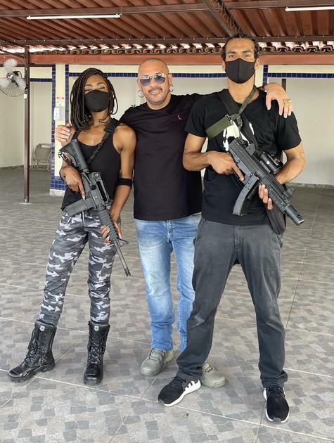 Erika Januza, José Junior e Marcello Melo Jr. (Foto: Divulgação)
