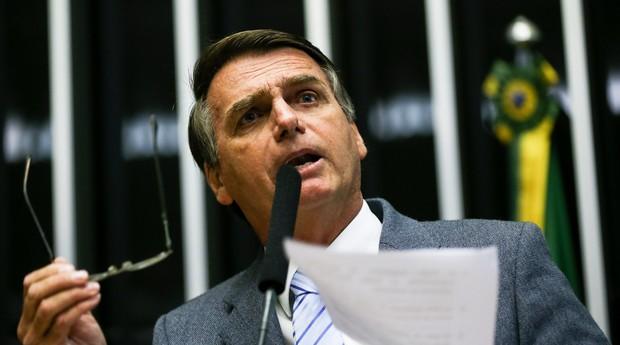 Jair Bolsonaro, do PSL, candidato à Presidência da República (Foto: Divulgação)