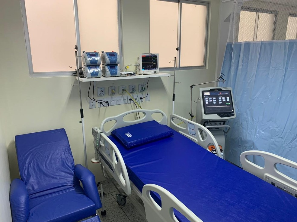 Hospital de Retaguarda de Cascavel — Foto: Divulgação/Prefeitura de Cascavel