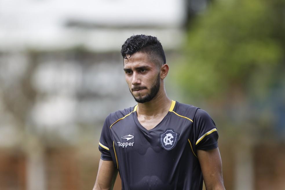 Gabriel Lima estreou na tempora na partida contra o Botafogo-PB (Foto: Akira Onuma/O Liberal)