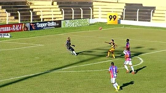 Novo Horizonte bate o Itumbiara e vence a primeira no Goianão; Iporá e Goianésia empatam