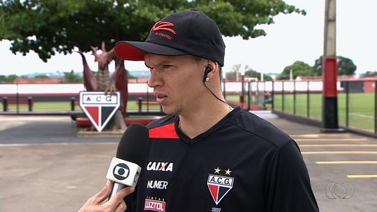 Jogadores comentam campanha e volta por cima do Atlético-GO em 2016