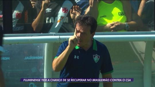 Fluminense tem a chance de se recuperar no Brasileirão contra o CSA