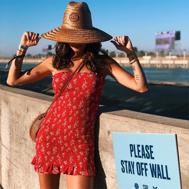 Use e abuse de estampas - Thaila Ayala faz isso muito bem nos looks de verão! (Foto: Instagram / Thaila Ayala)