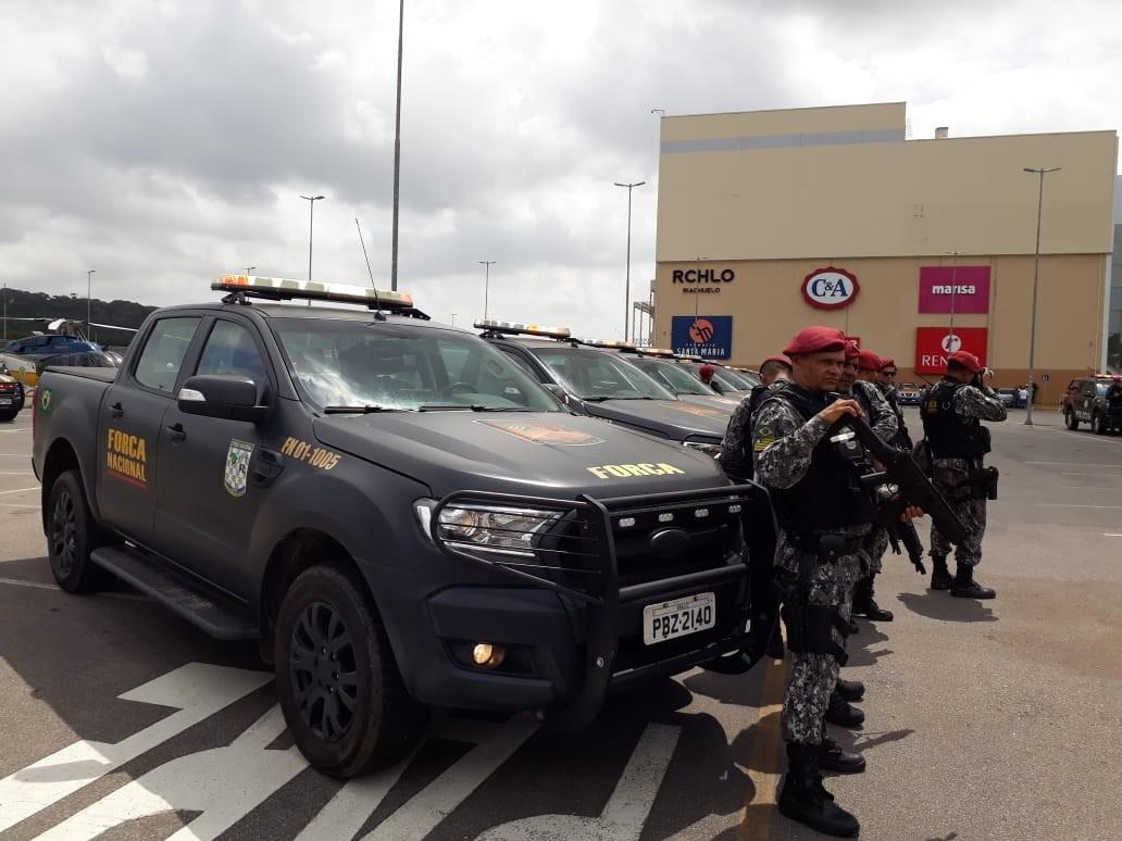 Equipes da Força Nacional encerram trabalho em Paulista, no Grande Recife