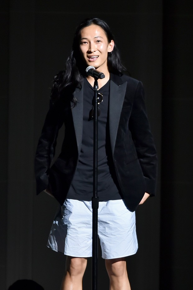 O estilista Alexander Wang no CFDA em Nova York (Foto: Getty Images)