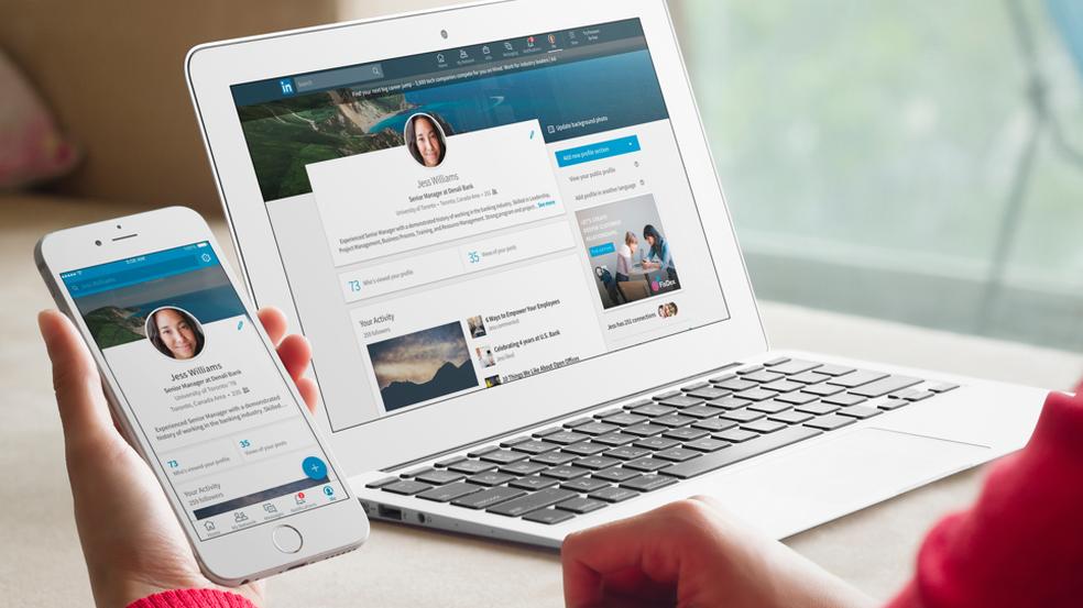 LinkedIn encontra vagas de acordo com o perfil do usuário — Foto: Divulgação/Linkedin
