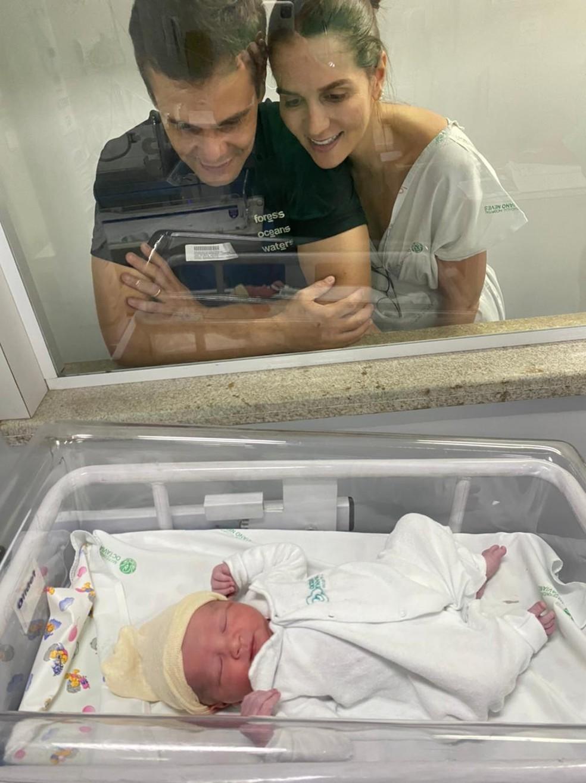 Nasce bebê gerado pela tia para irmã que não pode ter filhos em Belo Horizonte — Foto: Arquivo pessoal