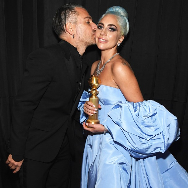 Christian Carino e Lady Gaga (Foto: Getty Images)