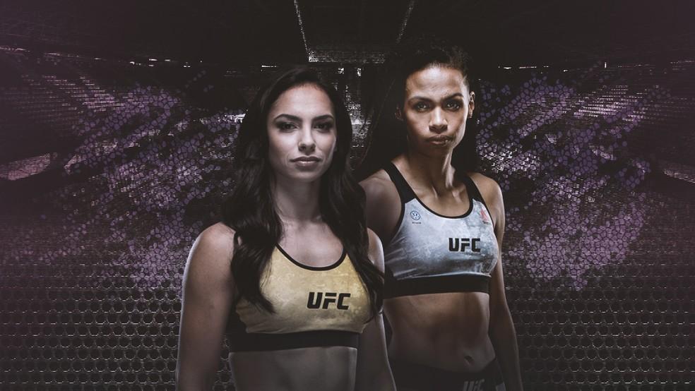 Ariane Lipski (esq.) e Luana Dread (dir.) vão enfim medir forças em junho — Foto: Info Esporte