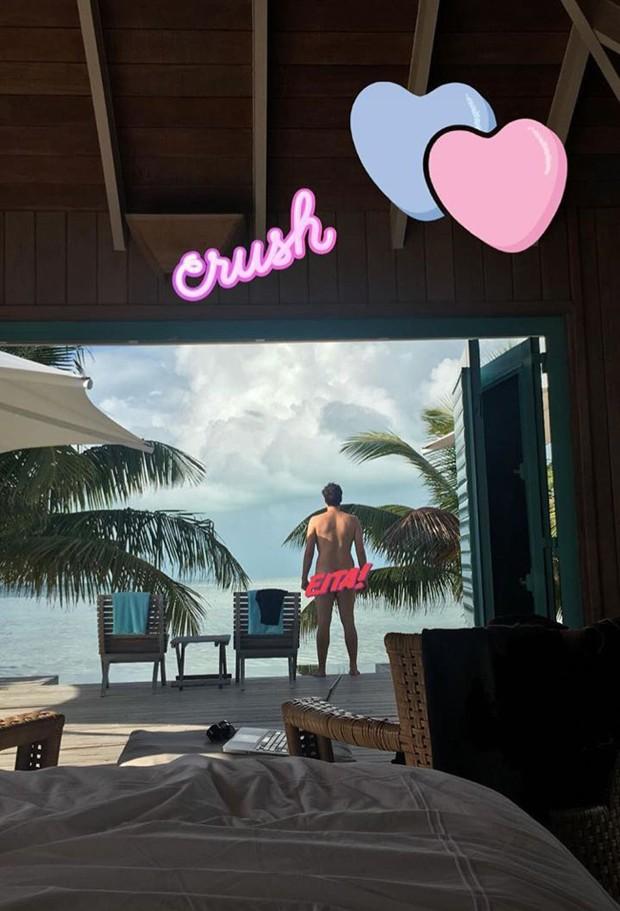 Fábio Porchat em Belize (Foto: Reprodução/Instagram)