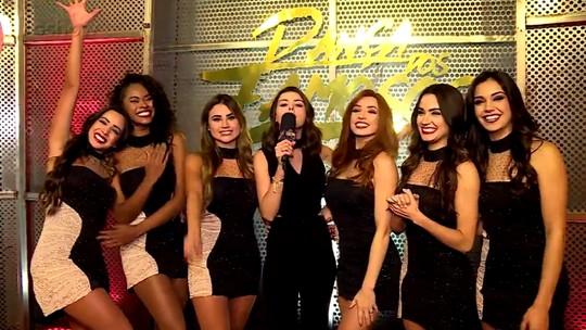 Bailarinas comentam emoção em participar do 'Dança dos Famosos 2018' e vibram nos bastidores