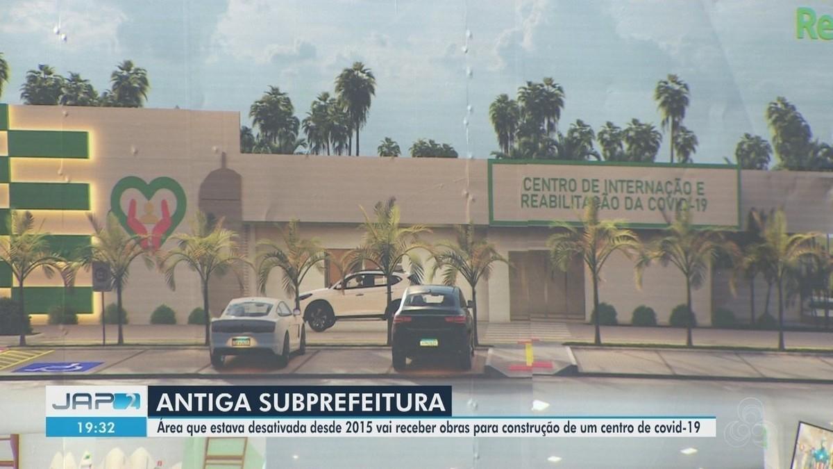 Área da antiga Subprefeitura de Macapá vai abrigar centro de reabilitação de Covid-19