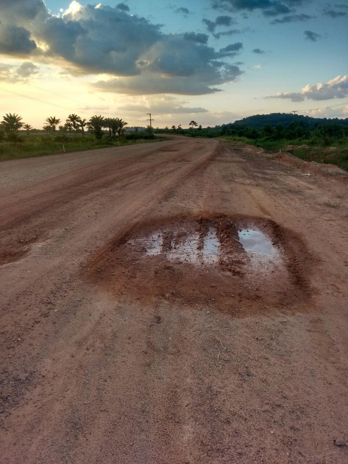 Roraima tem 79,5% das rodovias com algum tipo de problema, diz estudo da CNT