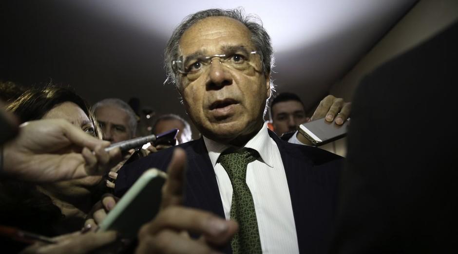 Paulo Guedes, ministro da Economia no governo de Jair Bolsonaro (Foto: Fabio Rodrigues Pozzebom/Agência Brasil)