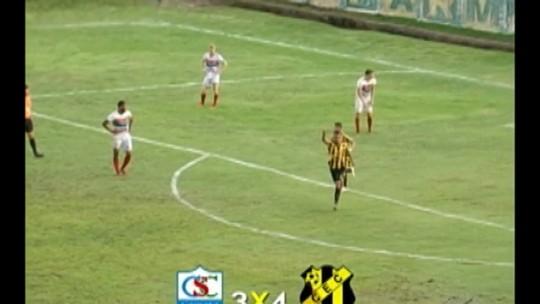 Em jogo de sete gols, Castanhal vence Cametá e continua vivo no Parazão