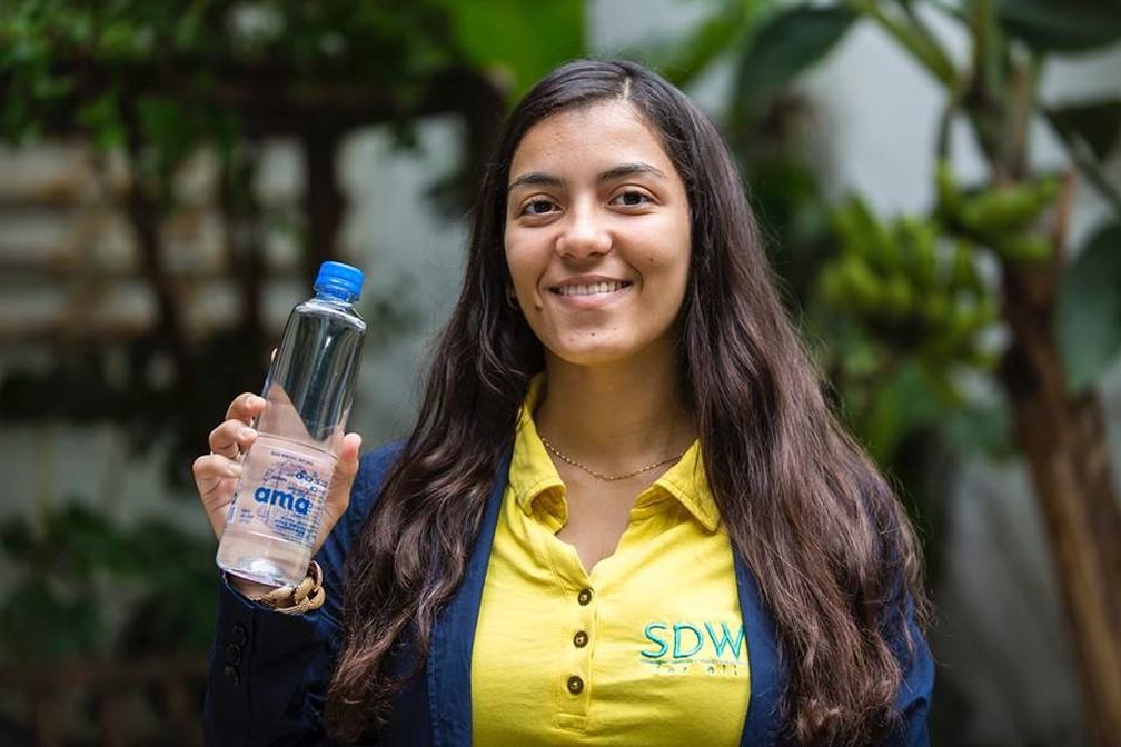 Anna Luisa trabalha com projeto desde os 15 anos de idade — Foto: Divulgação
