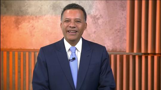 Heraldo Pereira fala sobre sua estreia à frente do novo Jornal das Dez
