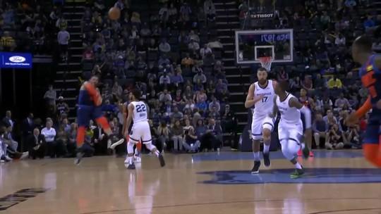 Nurkic sofre lesão à la Anderson Silva, e Bruno Caboclo lidera os Grizzlies na noite da NBA
