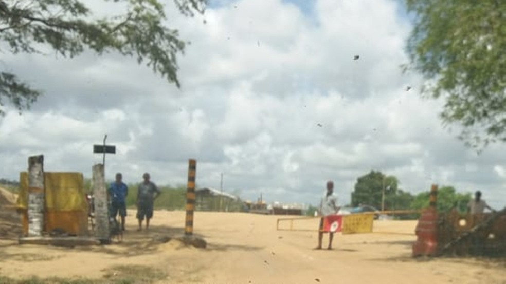 Assentamento Dom José Maria Pires fica localizado em fazenda na cidade de Alhandra  — Foto: Lídia Veloso/Arquivo Pessoal