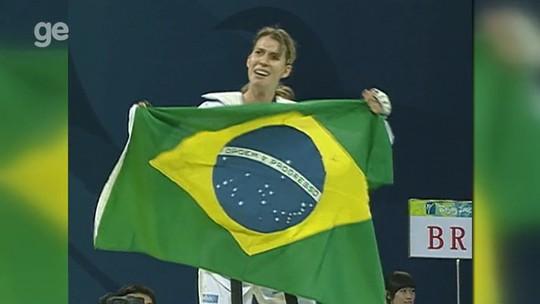 """Falavigna celebra 10 anos da inédita medalha olímpica no taekwondo: """"Impacto positivo"""""""