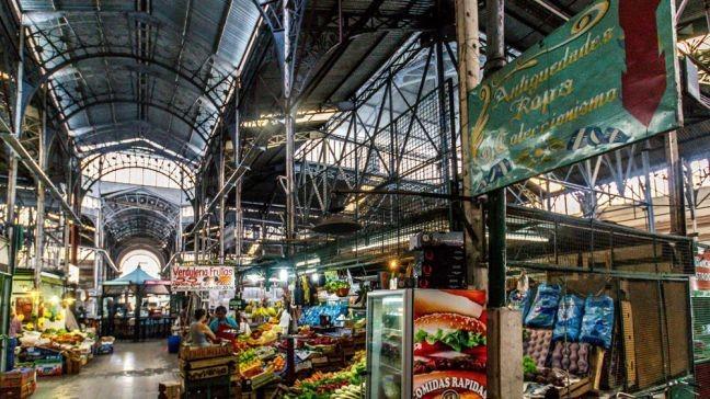 O Mercado de San Telmo: mais vida e com novidades  (Foto: Gisele Teixeira)