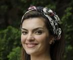 Mayana Neiva com o visual da maquiadora Charlene de Souza, em 'Sangue bom'   TV Globo/ Bob Paulino