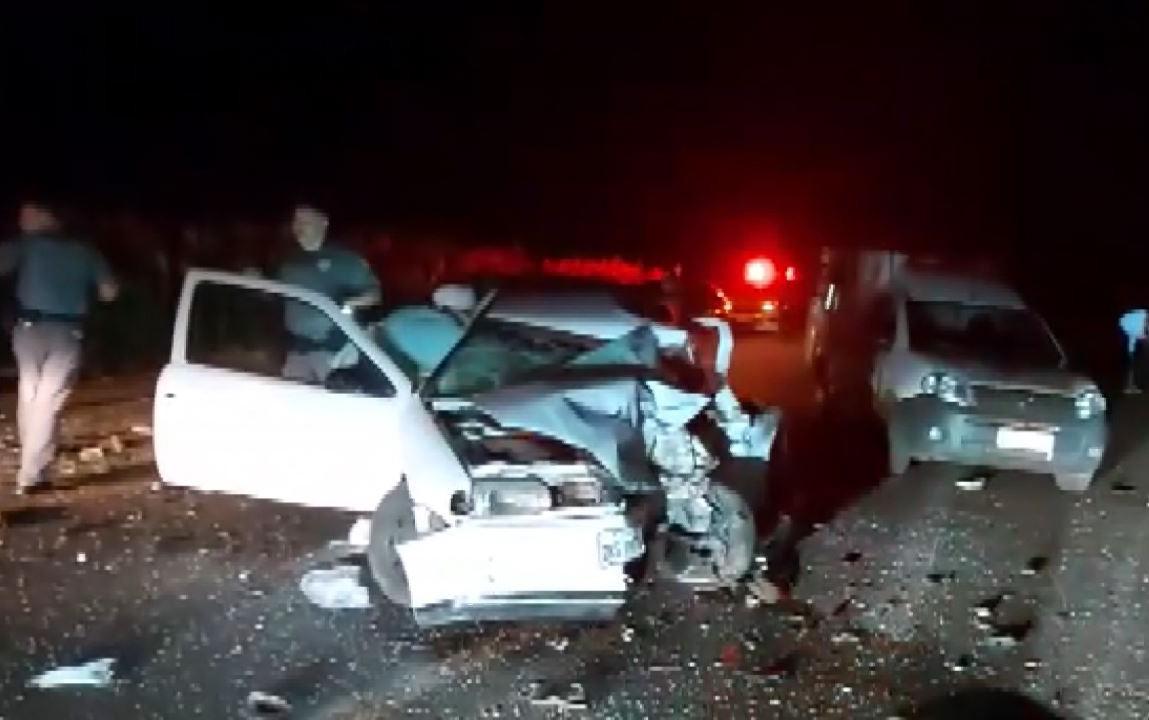 Uma pessoa morre e duas ficam feridas em acidente entre Miguelópolis e Guaíra, SP