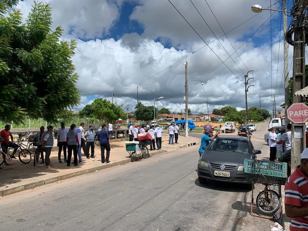 Funcionamento de feiras livres havia sido suspenso — Foto: Anna Alyne Cunha/Inter TV Cabugi