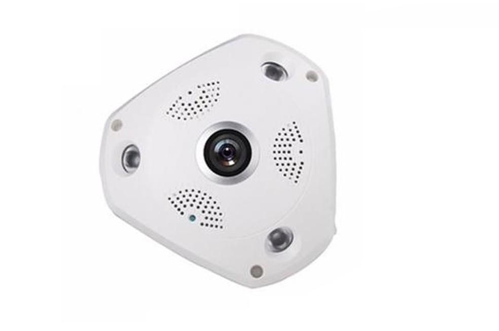 Câmera IP 360º com Wi-Fi  (Foto: Divulgação/OEM)
