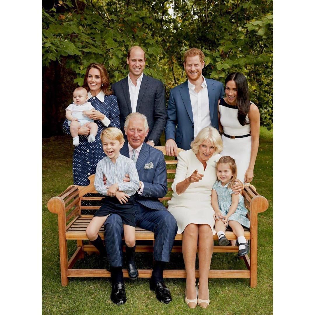 Família real britânica (Foto: Reprodução Instagram)