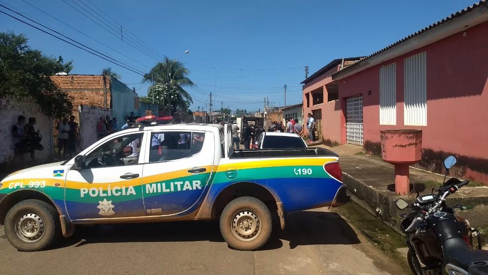 Trabalhador da Energisa é morto em Porto Velho — Foto: Diêgo Holanda/G1