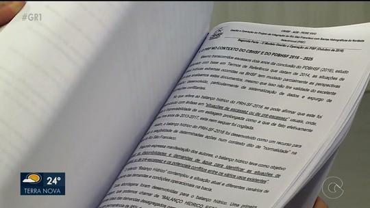 Comitê da Bacia Hidrográfica do Rio São Francisco elabora relatório que aborda a situação estrutural da obra de transposição