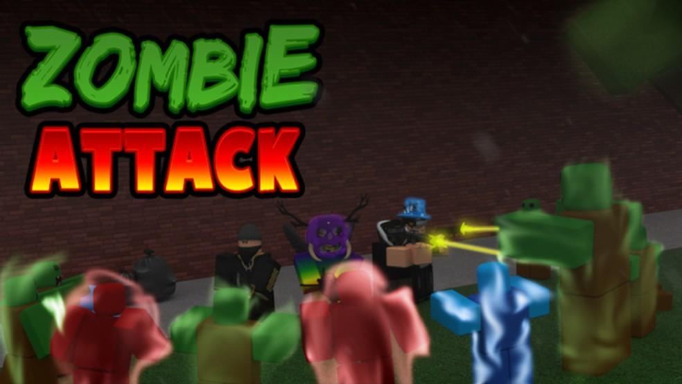 Zombie Attack traz a clássica combinação de zumbis e sobrevivência no Roblox — Foto: Reprodução/Roblox