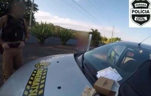 Vídeos mostram flagrante de pagamento de propina envolvendo empresa e secretário de obras de Missal - Notícias - Plantão Diário