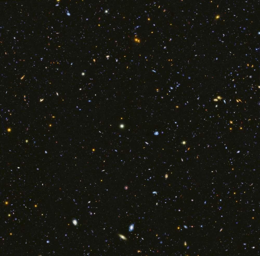 Foto divulgada por astrônomos (Foto: Divulgação/ NASA e ESA)