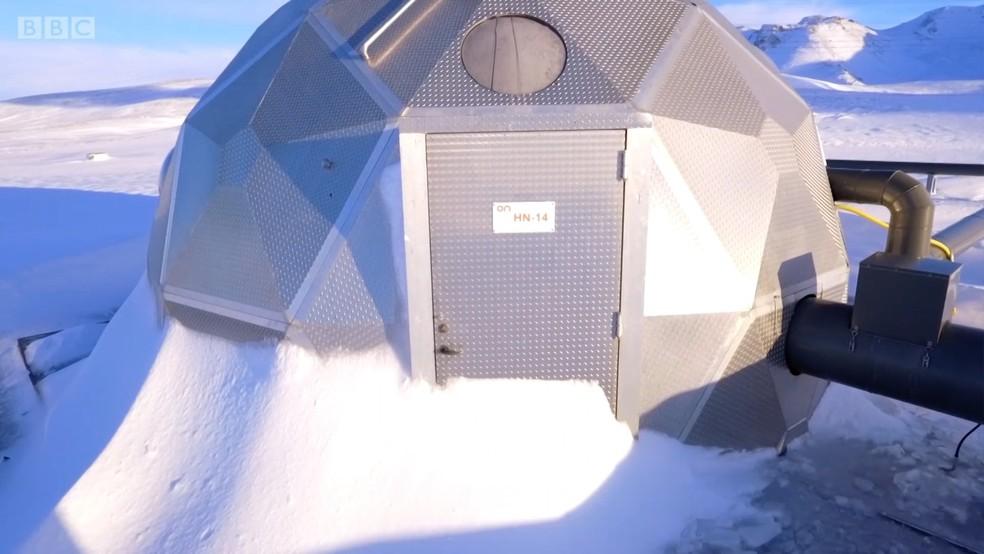Pesquisa 'transforma' C02 em pedra (Foto: BBC)