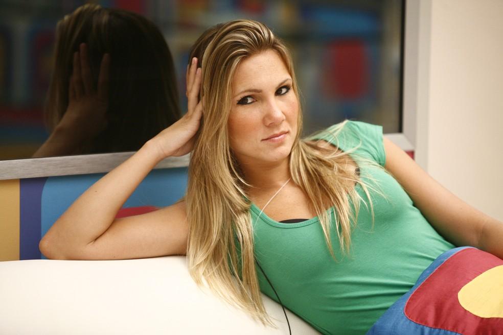 Josy, ex-participante do Big Brother Brasil 9 — Foto: TV Globo/Fabrício Mota