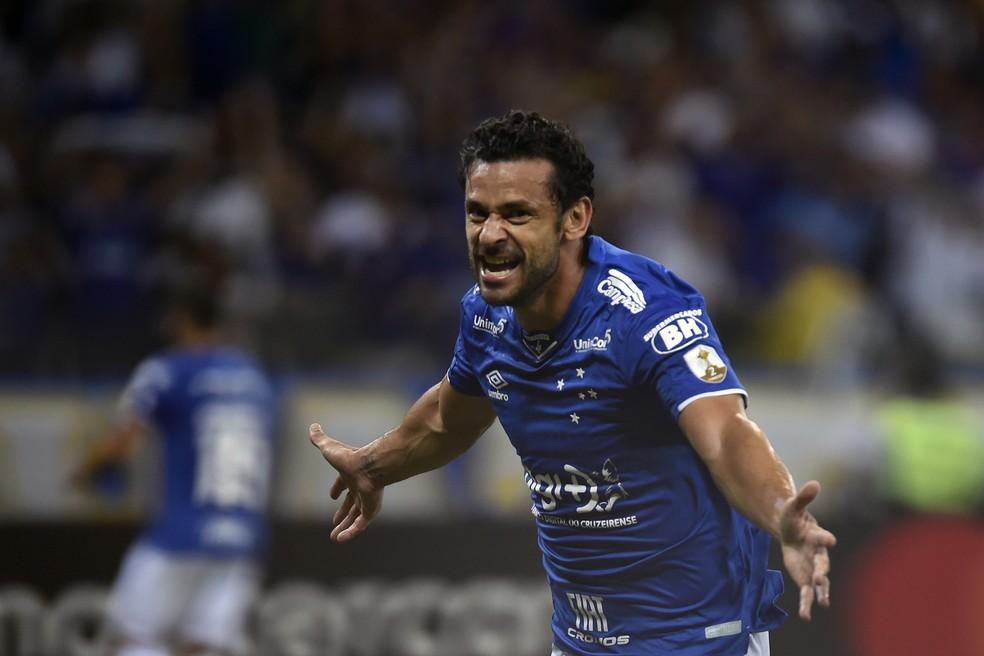 Até o momento, Fred fez 14 gols em 14 jogos na temporada 2019 — Foto: DOUGLAS MAGNO / AFP