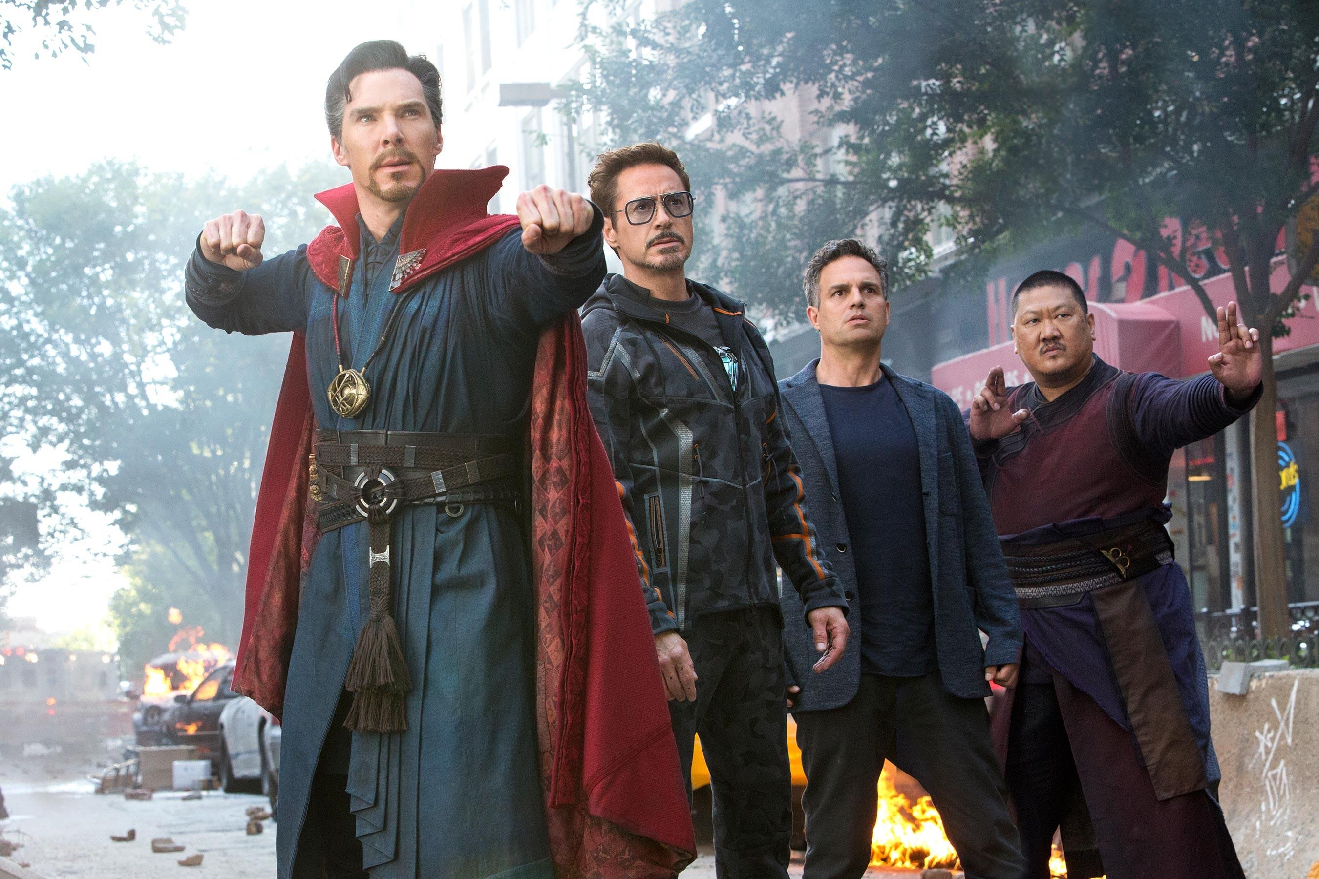 Benedict Cumberbatch como Doutor Estranho em Vingadores: Guerra Infinita (Foto: Divulgação)