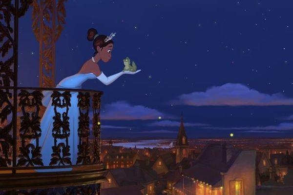 A Princesa Tiana em cena de A Princesa e o Sapo (2009) (Foto: Reprodução)