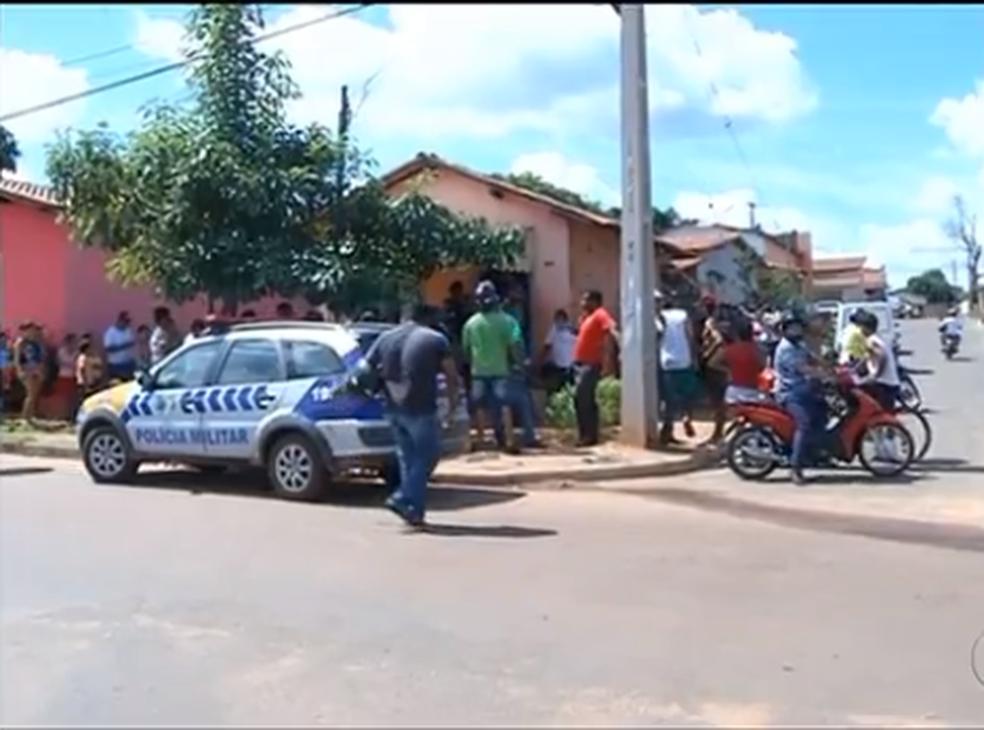 Crime aconteceu em 2016 em bairro de Araguaína (Foto: Reprodução/TV Anhanguera)